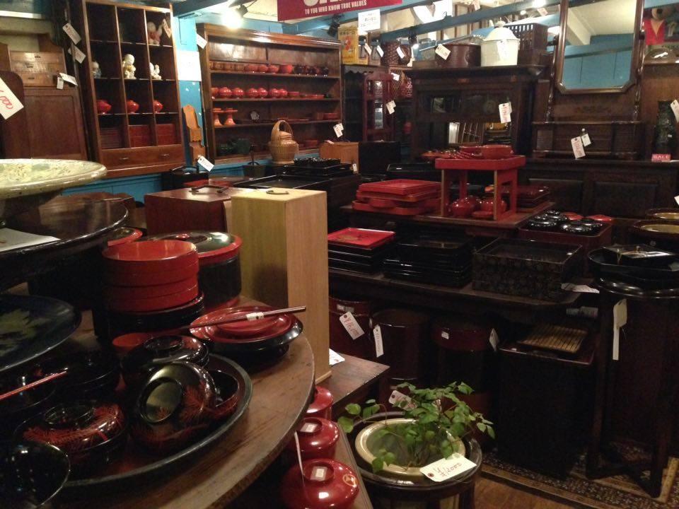 negozio lacche a Kyoto