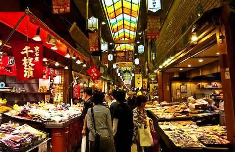 Nishiniki market, il mercato di Kyoto