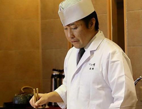 La grande cucina dello chef Akama, un pioniere in Italia nell'insegnamento della vera cucina Kaiseki!