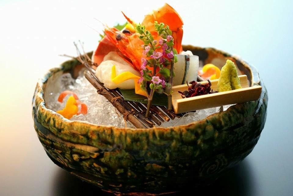 Piatto di cucina estiva