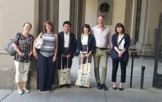 Incontro delegazione giapponese